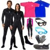 Wetsuits, Dive Suits & Apparel