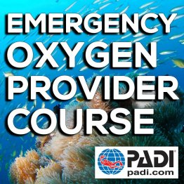 PADI Training Book- PADI O2 Provider