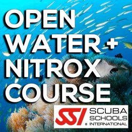 SSI Course- Open Water + Nitrox