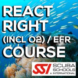 SSI Course- React Right (incl O2) / EFR