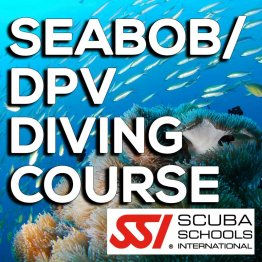 SSI Course- Seabob / DPV Diving