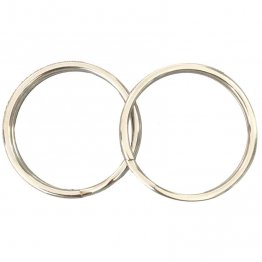 "Clip- 1"" Stainless Steel Split Rings"
