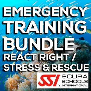 SSI Course- Emergency Training Bundle (React Right / Stress & Rescue)